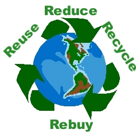 reduce reuse recycle rebuy